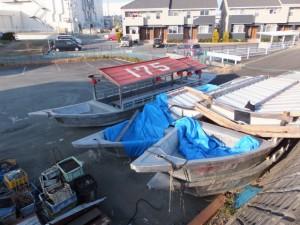 鵜飼用の船?、日本ライン下り用の船?