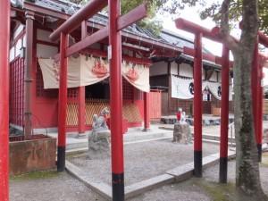 政成稲荷大明神、山津見神社(諏訪神社)