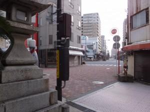 東海道(諏訪神社前)