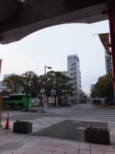 東海道(表参道スワマエアーケードから中央通りへ)