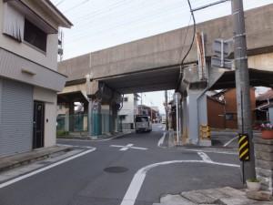 東海道、近鉄名古屋線の高架(930)