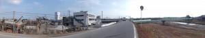 内部川左岸(6352)付近