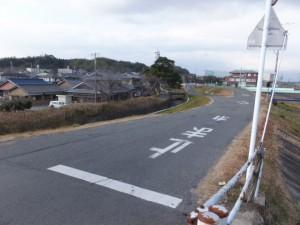 河原田橋(内部川)南詰(6522)から望む