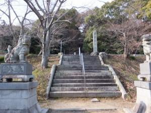 河原田神社の参道