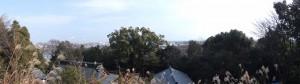 忘帰處(河原田神社)からの眺望
