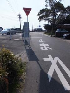 県道103号との交差点、伊勢街道(7705)
