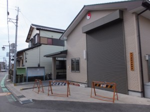 神戸南萱町祭車庫
