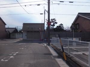 左 伊勢街道・右 神戸城址、伊勢-2(587)