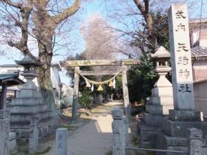 矢?(手偏+竒)神社