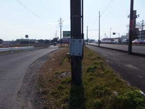 肥田町交差点から島橋へ、伊勢-2(2257)〜(2050)