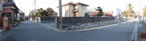 江島若宮八幡神社の参道