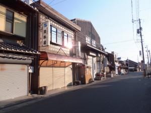 江島屋敷跡の説明板付近、伊勢-2(6346)〜(7130)