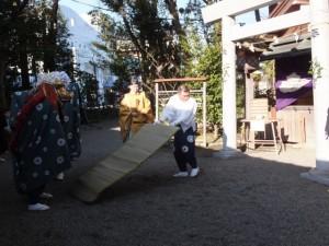 御頭神事(世木神社)
