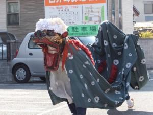 喫茶コンスレート伊勢付近(世木神社の御頭神事)