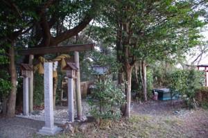 音無山にある音成神社(伊勢市二見町)