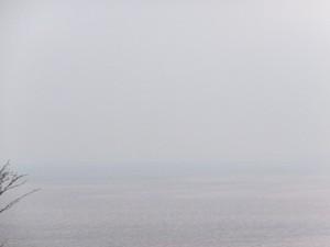 音無山(伊勢市二見町)から見えるはずの富士山?