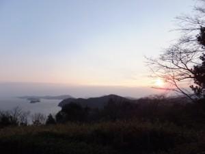 音無山(伊勢市二見町)からの眺望
