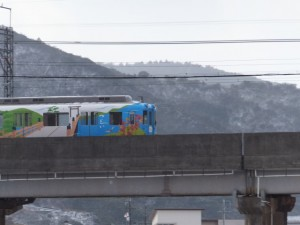 雪の近鉄観光列車つどい