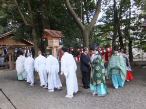 楠部町萬歳楽 参進(櫲樟尾神社)