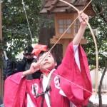 楠部町萬歳楽 鬼打ち儀式(櫲樟尾神社)