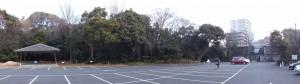 (44)相撲場の前からのパノラマ(熱田神宮)
