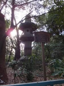 (32)佐久間燈籠(熱田神宮)