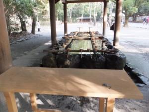 (27)手水舎(熱田神宮)