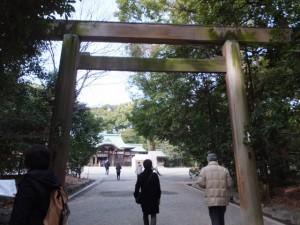 (37)上知我麻神社への鳥居(熱田神宮)