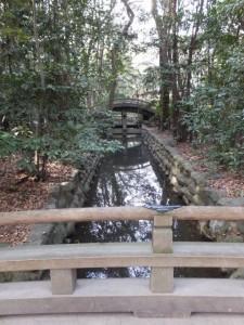 正参道から望む(31)二十五丁橋(熱田神宮)