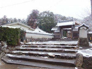 蓮華寺(度会町棚橋)
