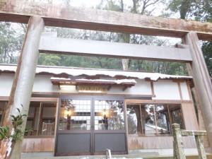 内城田神社(度会町棚橋)