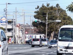 JR山田上口駅の遠望