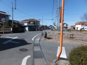 熊野古道伊勢路の道標、和合橋(菱川)付近