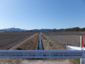 上地町集落緑化施設付近
