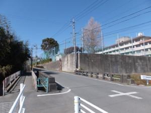 汁谷橋(城田小学校付近)
