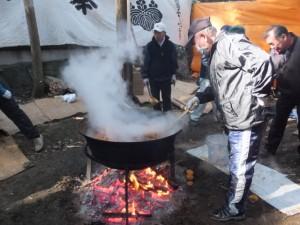だいこ炊き(城田神社の御頭神事)