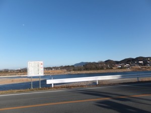 柳の渡し跡付近(宮川)