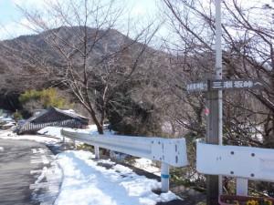 大雪の後の多岐原神社へ