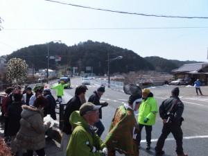 五身懸祭 – 道中練り歩き(川添神社)
