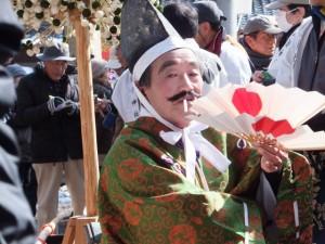 五身懸祭 – 道中練り歩き、神社へ到着(川添神社)
