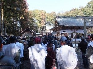 五身懸祭 – 修祓(川添神社)