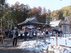 五身懸祭 – 献饌(川添神社)