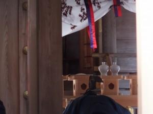 五身懸祭 – 祝詞奏上の後(川添神社)