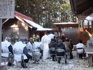 五身懸祭 – 献酒神事(川添神社)