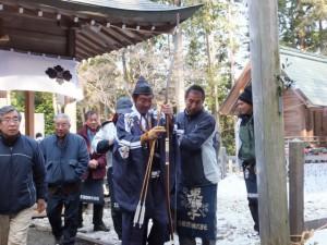 五身懸祭 – 弓射神事(川添神社)