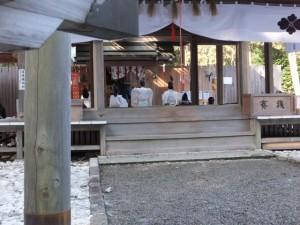 五身懸祭 – 玉串奉奠(川添神社)