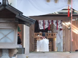 五身懸祭 – 撤饌(川添神社)