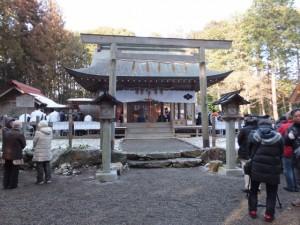 五身懸祭 – 宮司一拝(川添神社)