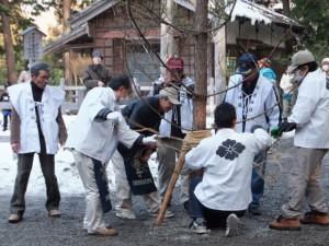 五身懸祭 – 苗松行事(川添神社)