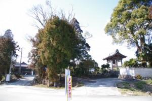 真念寺(御船神社〜朽羅神社)